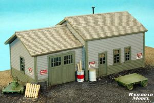 Motrak Models MOW Shed in HO Scale