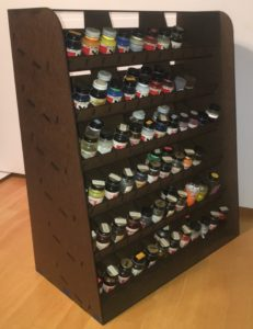 Alrigtht folks, here it is  Many people have asked for a paint rack that